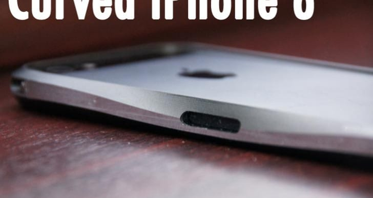 Curved iPhone 6 could release users from cases