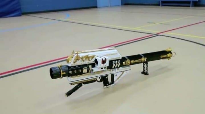 Custom Destiny LEGO Gjallarhorn rocket launcher
