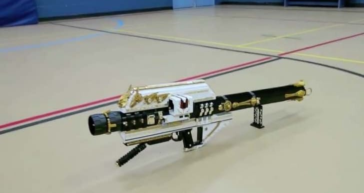 Custom Destiny LEGO Gjallarhorn rocket launcher