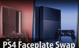 Custom PS4 Faceplate replacement in demo