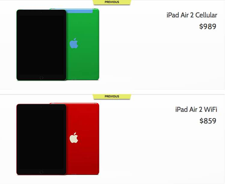 Custom iPad by ColorWare