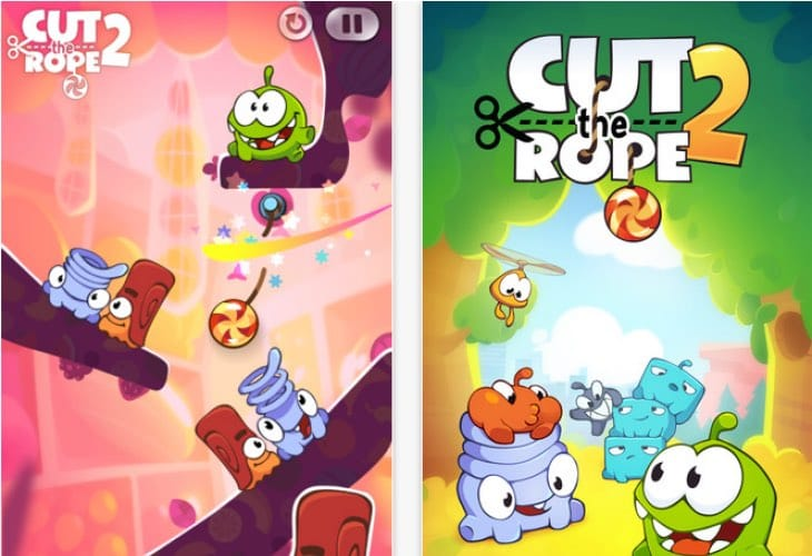 Cut the Rope 2 1.2.4 iOS update