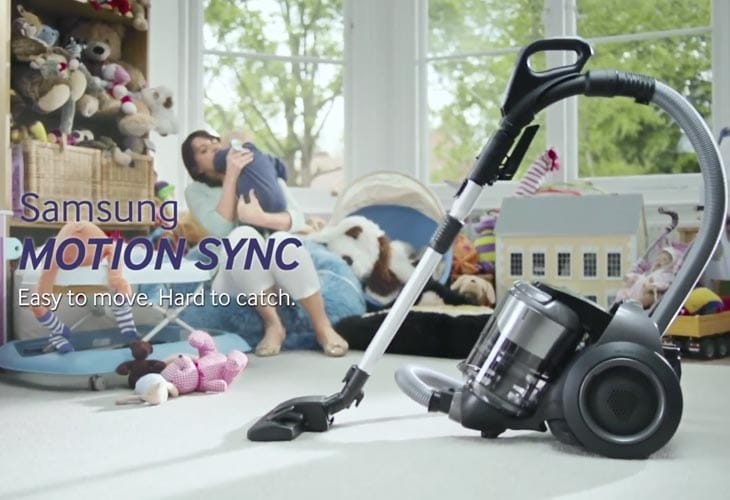 Baby vs. Vacuum: Motion Sync from Samsung