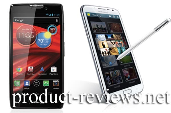Droid RAZR MAXX HD vs. Galaxy Note 2 all-in-ones