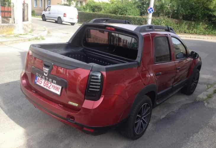 Dacia Duster dual cab pickup