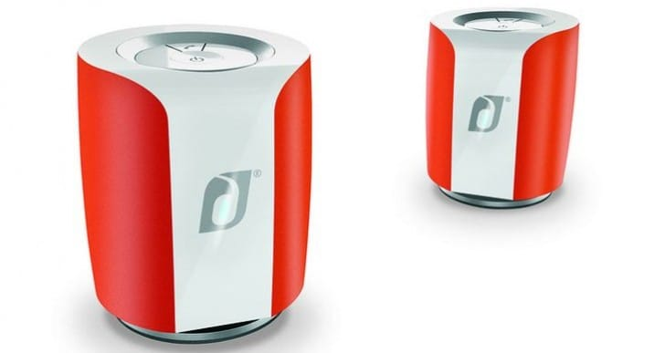 Damson Jet twin mini speaker arrives