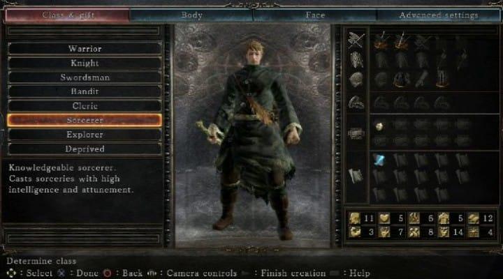 Dark Souls 2: Knight Vs. Sorcerer class