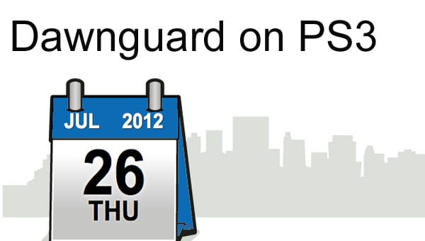 Skyrim Dawnguard: Counting days until PS3 DLC