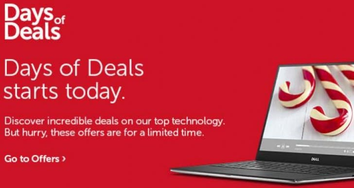 New Dell Inspiron 13, 15 and 17 in Days of Deals incentive