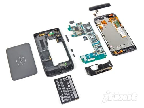 Dell Streak Teardown: iFixit repairability score – Product Reviews Net