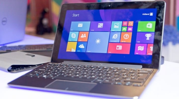 Windows 8 hits tablet PC sales landmark