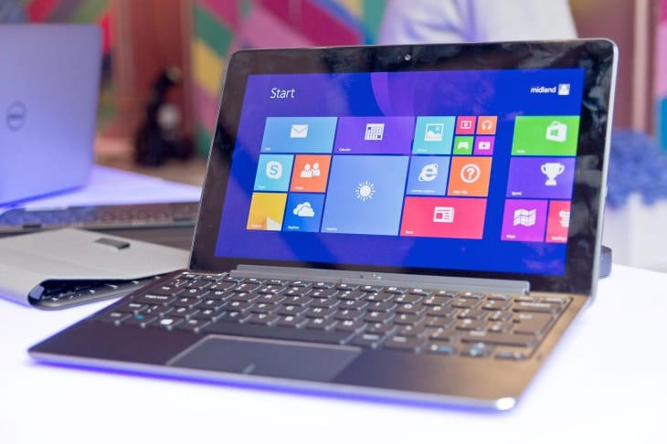 The Dell Venue tablet gives you a choice of Windows 8.1 or Android platforms