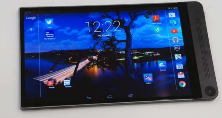 Dell Venue 8 7000, a vision of an HTC One tablet