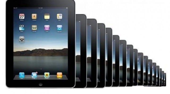 Demand for 12-13-inch Apple iPad