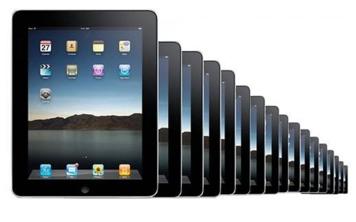 Demand for 12-13-inch Apple iPad
