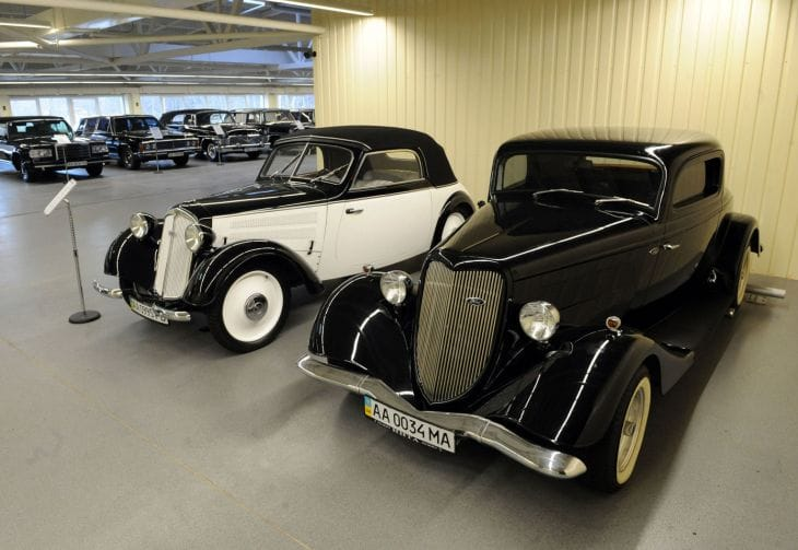 Deposed Ukrainian president has an envious automobile collection 2