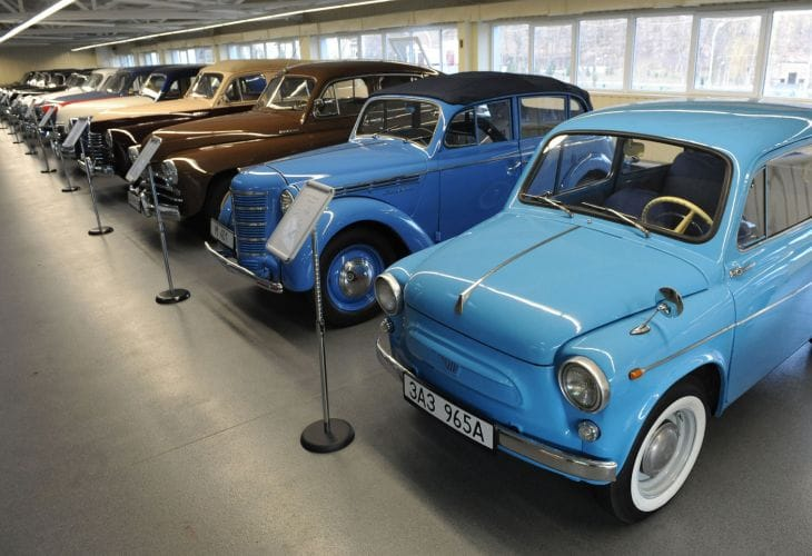 Deposed Ukrainian president has an envious automobile collection