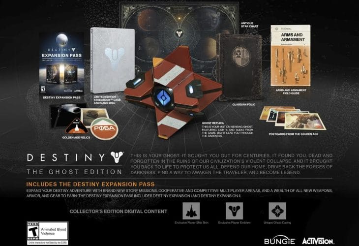 Destiny Ghost Edition with release date