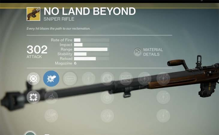 Destiny-No-Land-Beyond-exotic-sniper-rifle-stats