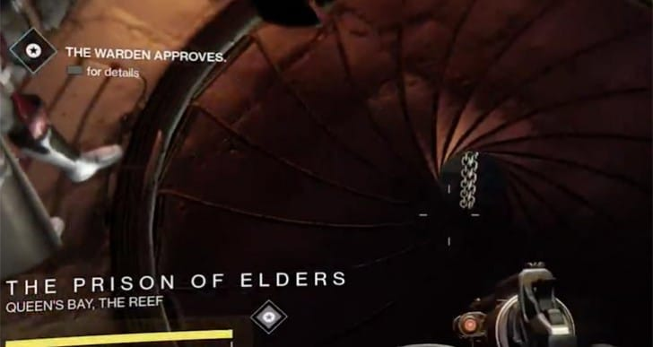 Prison of Elders loot chest for new Destiny weapons, armor