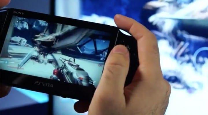 Destiny Remote Play controls in PS4 to PS Vita demo