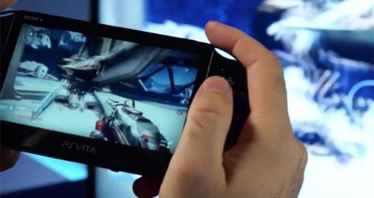 Destiny Remote Play controls in PS4 to PS Vita demo