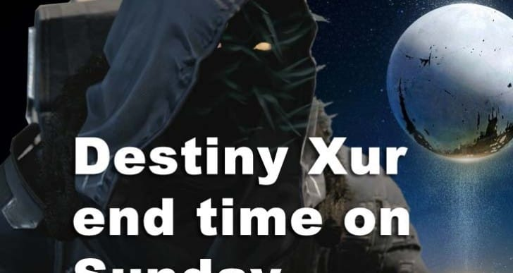 Destiny Xur Sunday end time, Nov 14 location next