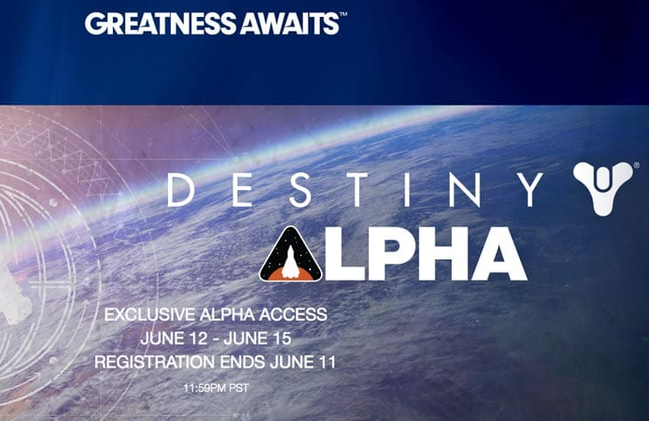 Destiny-alpha-PS4-test-starts