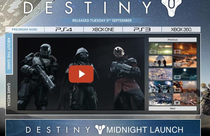 Destiny-midnight-UK-launch-at-GAME