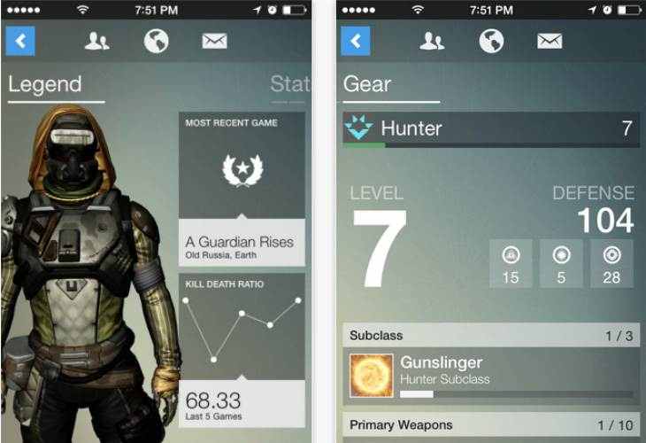 Destiny update brings improvements for Companion app