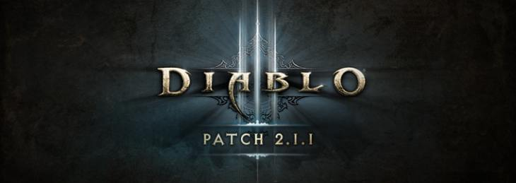 Diablo 3 2.1.1 and patch notes