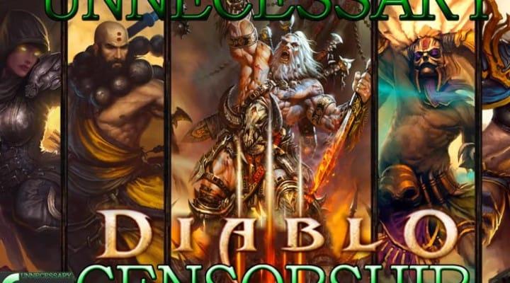 Sidesplitting Diablo 3 censorship