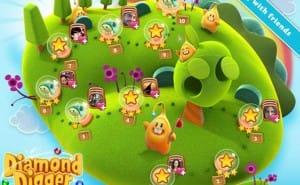 Diamond Digger Saga by Candy Crush game makers