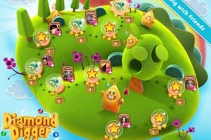 Diamond Digger Saga by Candy Crush game makers