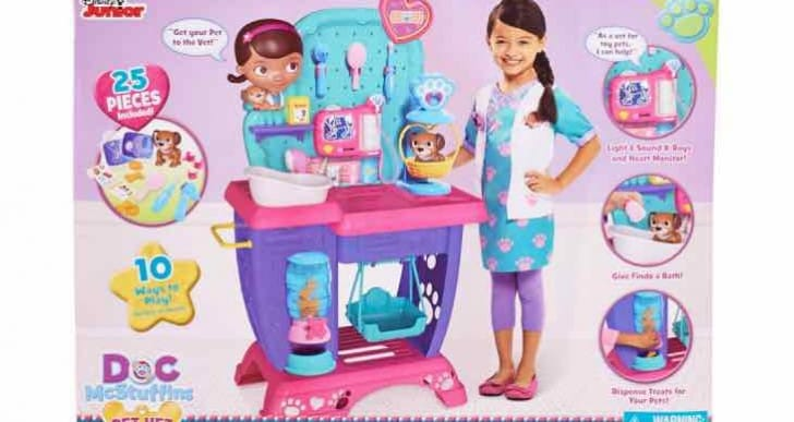 Disney Doc McStuffins Pet Vet Checkup Center review