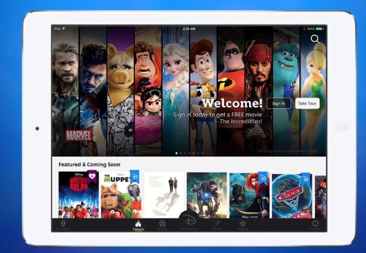 Disney Movies Anywhere for iOS