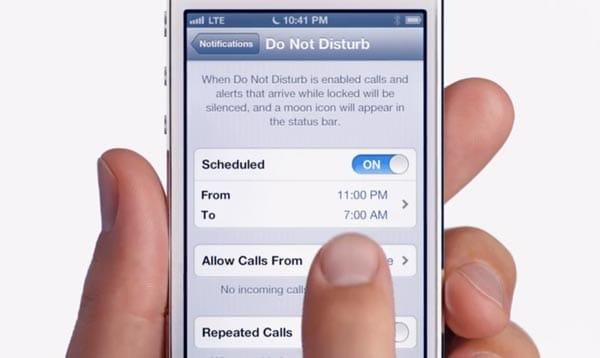 iOS 6 Do Not Disturb fix arriving on autopilot