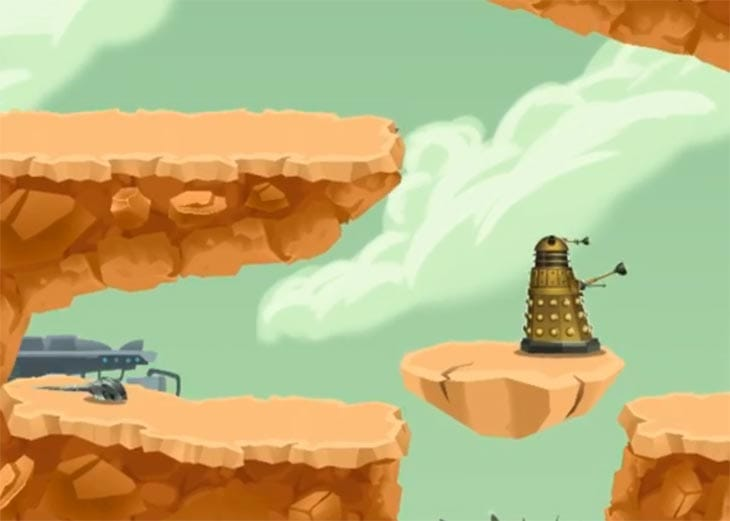 Doctor-Who-12th-doctor-game-by-BBC-with-Daleks