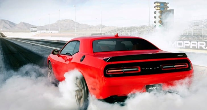Dodge Challenger Hellcat limits horsepower for safety