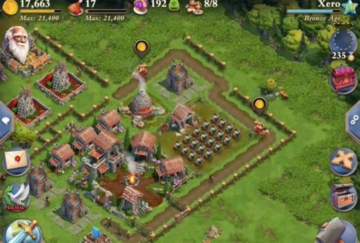 DomiNations-gameplay