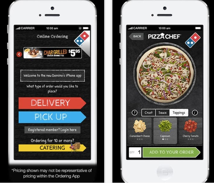Dominos-iphone-app