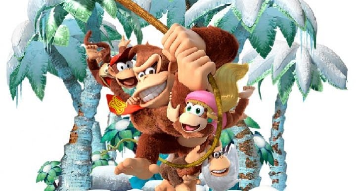 Wii U 2014 joy with Donkey Kong Tropical Freeze reviews