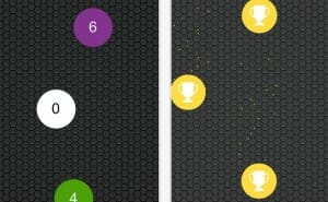 Don't Touch The White Zero iOS app gameplay