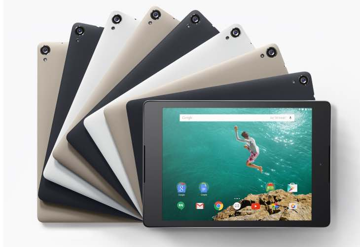 Buy Nexus 9 tablet with cashback from Google
