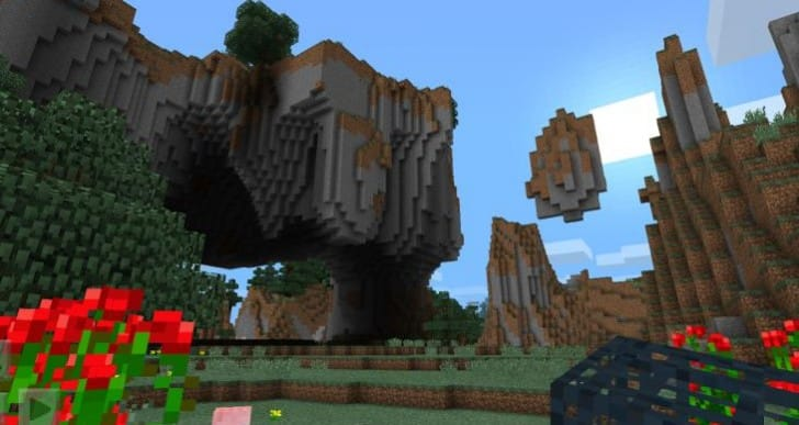 Download Minecraft PE version 0.9.0 today