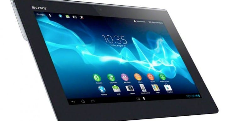 Download Sony Xperia Tablet S Jelly Bean update today
