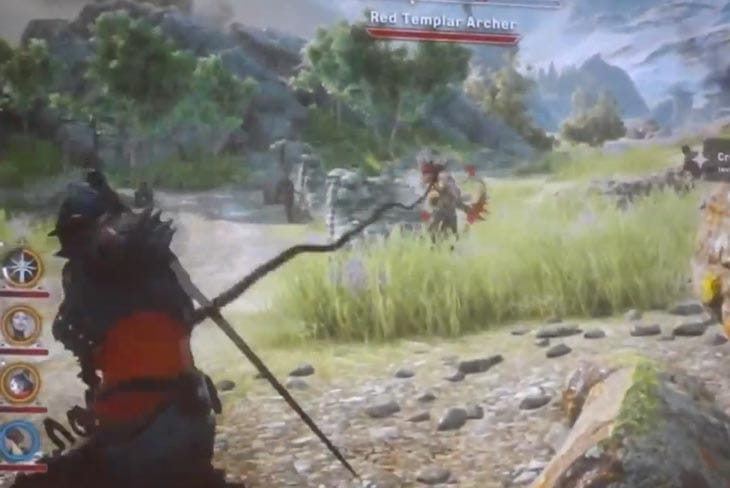 Dragon Age: Inquisition gameplay shown on stage at PAX Prime 2013