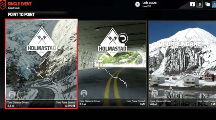 DriveClub extreme weather gameplay post update