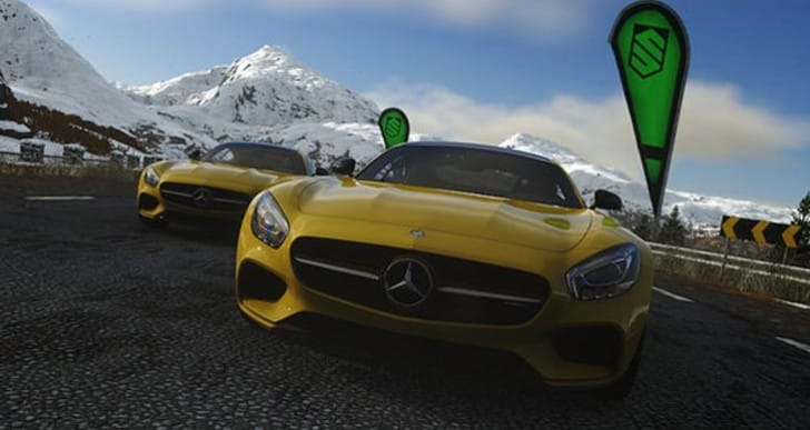 Mercedes Benz Driveclub PS4 DLC with new AMG GT