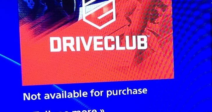 DriveClub PS Plus release date MIA for Christmas
